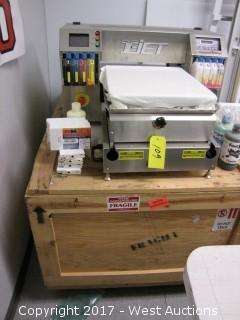 T-Jet Blazer Express Garment Printer with Shipping Crate