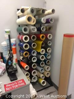 Rack and Perforated Vinyl Rolls