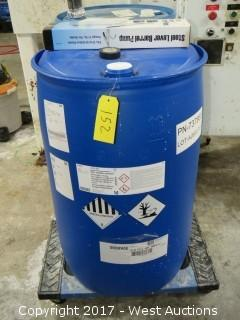 55 Gallon Barrel of Zinc Sulfate Solution