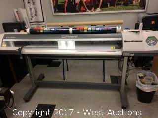 "Roland VersaCAMM VP-540 54"" Eco-Solvent Inkjet Printer/Cutter"