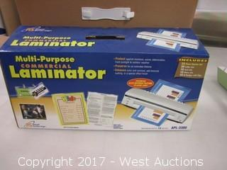 Royal Sovereign Small Multi-Purpose Commerial Laminator