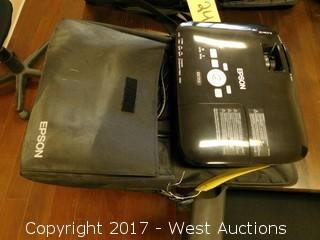 Epson EX7200 Multi-Media Projector with Case