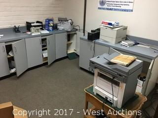 Bulk Lot of Office Equipment and Supplies
