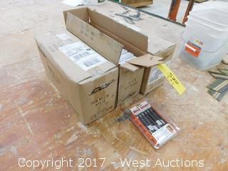 "(3) Boxes of 500 Watt ""Bulb Buddy"" Halogen Bulbs"