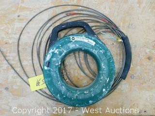 Greenlee 125' Steel Fish Tape