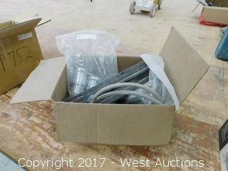 Box of Senco Parts and Mitre Fittings