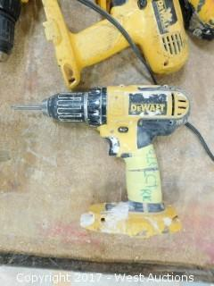 (6) DeWalt Cordless Drills