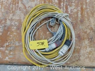 Lot of Extension Cords