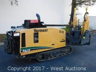 2011 Vermeer D9x13 Series II Directional Drill with (25+) Drill Shafts
