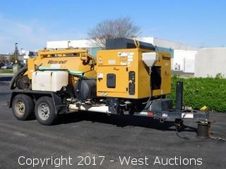 Trailer Mounted Vermeer V500LE-LTHD Vacuum Excavator System