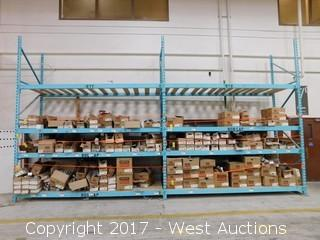 (2) Sections of 14' Pallet Racking (no contents)