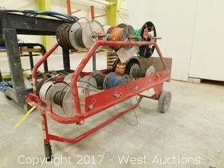 Wire Spool Carrier Cart