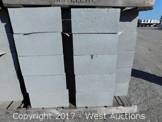 (1) Pallet of 12x8x16 Masonry Block