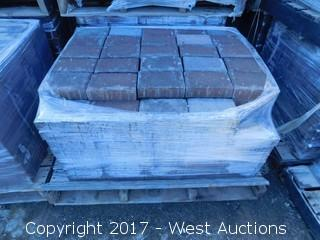(1) Pallet of 60 mm  Paver - Rectangle Carriage Stone in Sonoma Blend