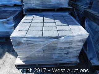 (1) 60 mm Paver - Rectangle Carriage Stone in Shasta Blend