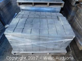 (1) 60 mm Paver - Square Castle Stone in Shasta Blend