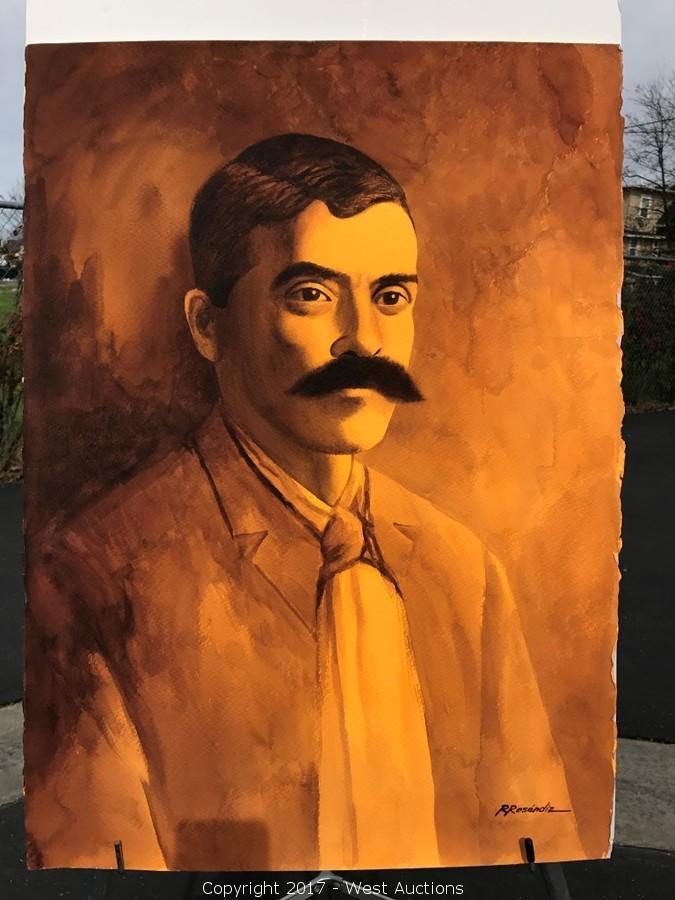 Original Watercolor Paintings by Mexican Artist Rubén Reséndiz