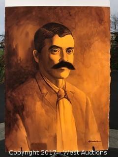"""""""Acuarela"""" Original Watercolor by Ruben Resendiz"""