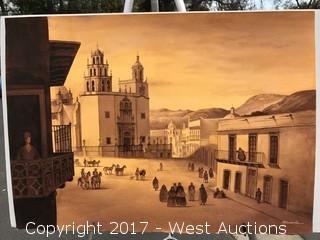 Original Watercolor by Ruben Resendiz