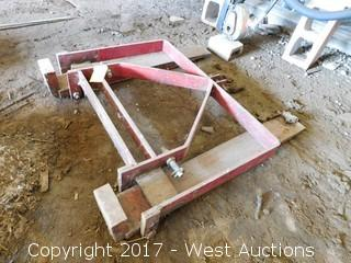 3 Point Tractor Forks Implement