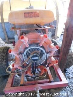 Solo 120 Gallon Orchard Pesticide Spray Trailer