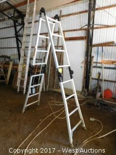 Estway 7' Multi-Ladder