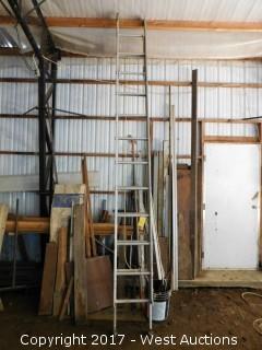 22' Aluminum Extension Ladder