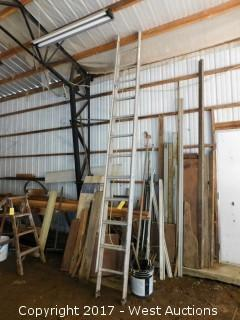 22' Aluminum Extension Ladder