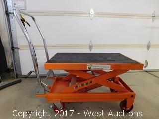 1000 lbs. Capacity Hydraulic Table Cart
