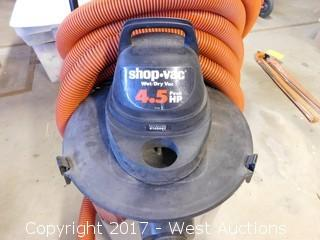 ShopVac 4.5 HP Wet/Dry Vacuum