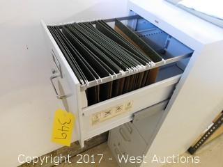 Metal 4 Drawer File Cabinet