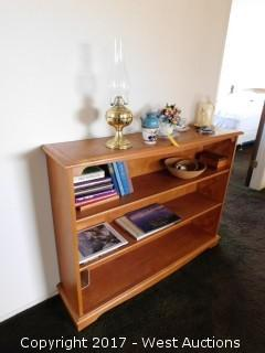 Book Shelf with Contents