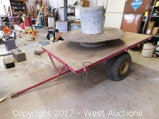 6'x3.5' Flatbed ATV Trailer