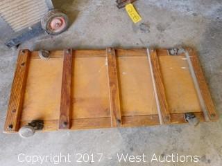 Vintage Wood Mechanics Creeper