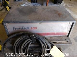 Wards Powr-Kraft 230 Welder