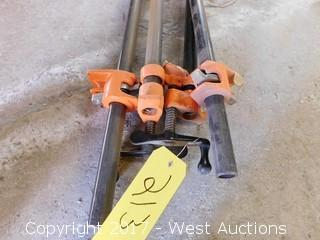 (4) 4' Pony Bar Clamps