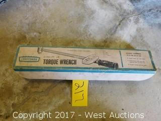 Craftsman 150' LBS Torque Wrench
