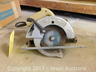 "Black and Decker U-136 6-1/4"" Circular Saw"