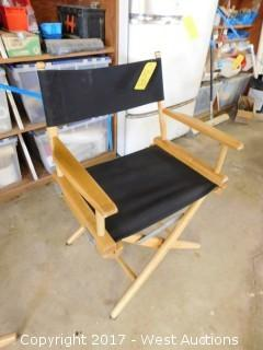 (2) Director's Chairs (one broken)