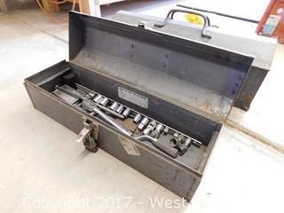 Vintage Craftsman Toolbox with tools