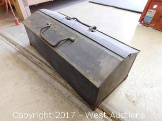 Hammet Vintage Toolbox Filled with Tools
