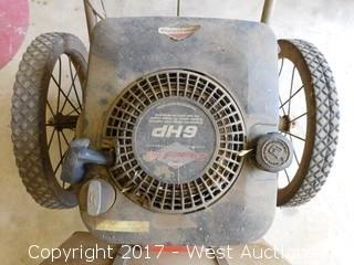 Briggs and Stratton 6HP Gas Brush Mower