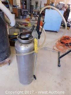 Aluminum Spray Cannister