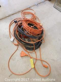 (4) Extension Cords