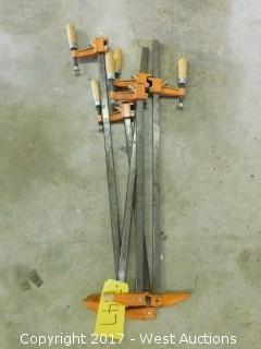 (5) 2' Wood Clamps