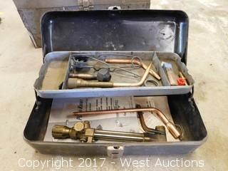 Acetylene Torch Hardware with Toolbox