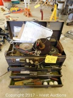 Kennedy Toolbox Filled with Tools