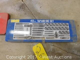 40 Piece Tap and Die Set