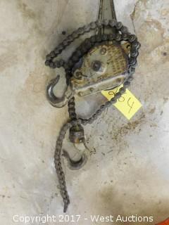 Duff-Norton 1.5 Ton Hoist Chain
