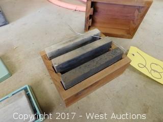 (2) Fire Grit Wash Stones